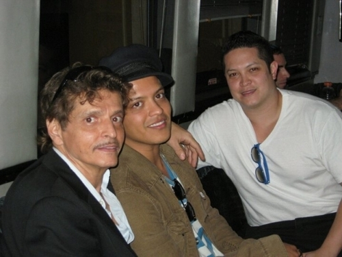 Bruno Mars his Father and Brother