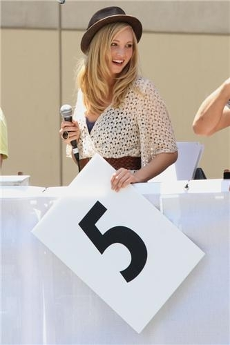 Candice Judging the 2011 Red toro Soapbox Race in L.A! [5/21/2011]