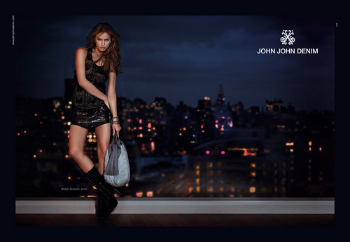John John Denim Photoshoot