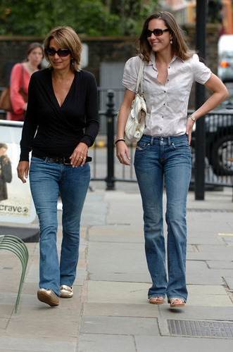 Kate Middleton; Out in London 2007