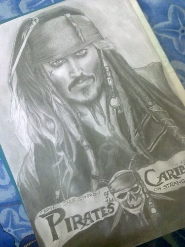 My Captain Jack Sketch (potc 4) ^__^
