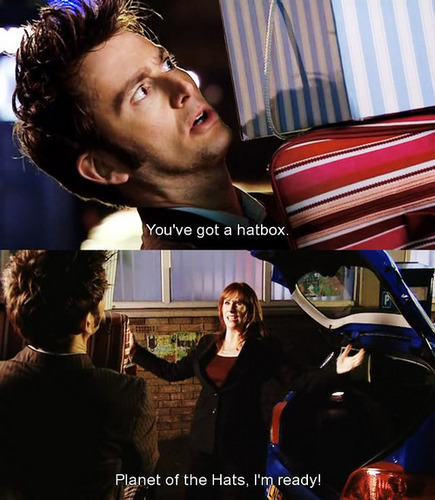 The Doctor and Donna , Partners in Crime