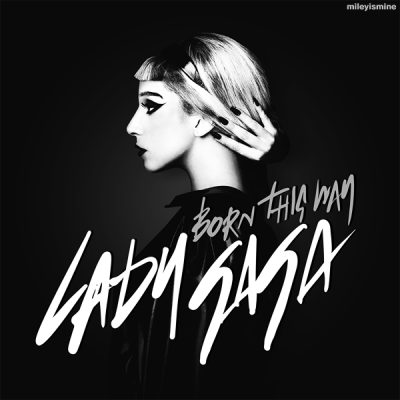 "Side on View of girl with blonde hair aka. Lady Gaga - ""Born This Way"" Song Cover"