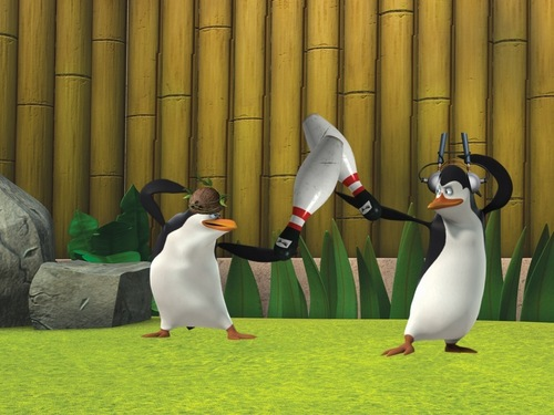 Bowling Pin Fight! :D