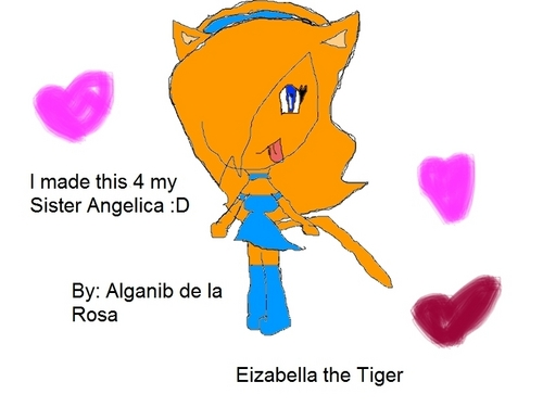 I made this 2 Eizabella my sister