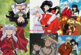InuYasha and Kagme wolpeyper