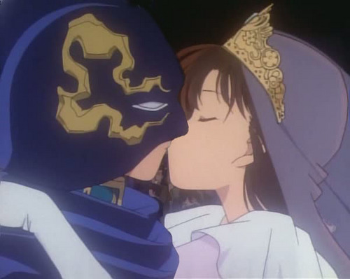 Shinichi and Ran Kiss