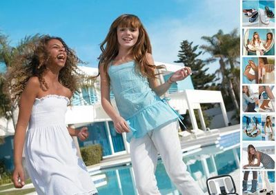 Bella thorne 照片 shoots for Aldo Kids