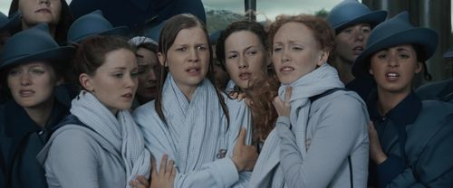 Fleur Delacour and Beauxbatons girls