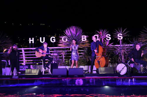 Hugo Boss pool party, Monaco, 27 May