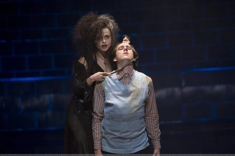 Neville Longbottom and Bellatrix Lestrange
