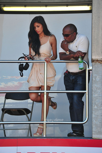 Nicole Scherzinger at Monaco Formula One Grand Prix, May 28