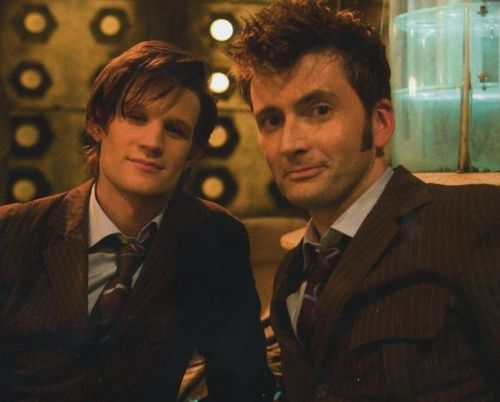 David Tennant (10th) & Matt Smith (11th)