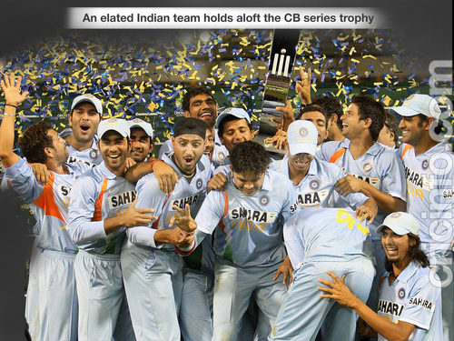 Happy indian team
