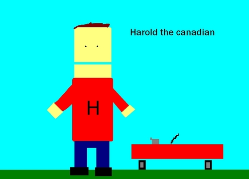 Harold the canadian edited
