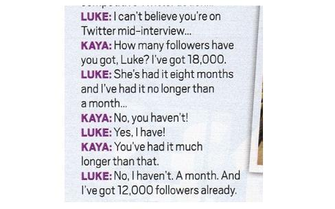 Luke and Kaya