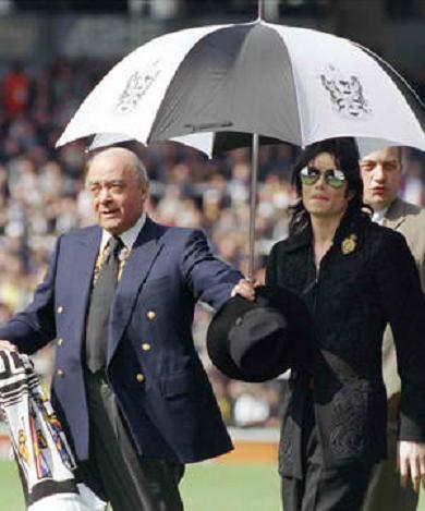~MICHAEL WITH MOHAMED AL FAYED~