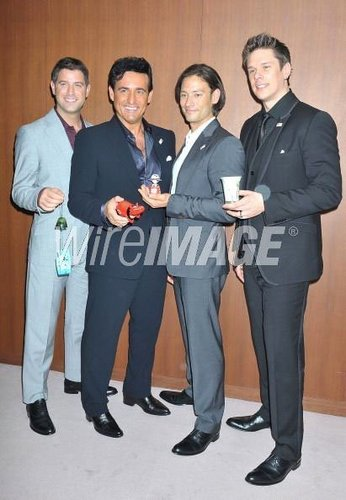 Il Divo with the japanese minister of Turism