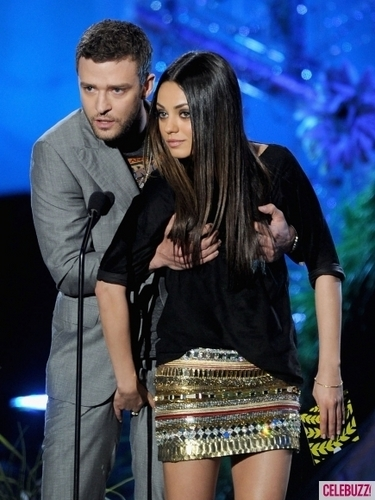 Justin Timberlake and Mila Kunis Get Touchy at MTV Movie Awards