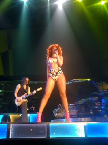 Loud Tour In Baltimore 4 06 2011