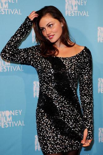 "Phoebe Tonkin arrives at the Sydney Film Festival opening night screening of ""Hanna"" on June 8, 2011"