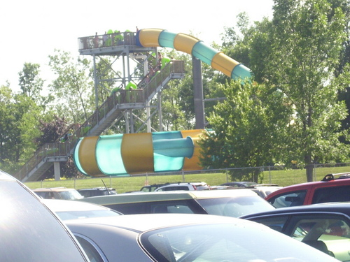 ProSlide Cannonbowl at Martin's fantasy Island
