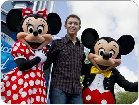 Scotty at Disney World