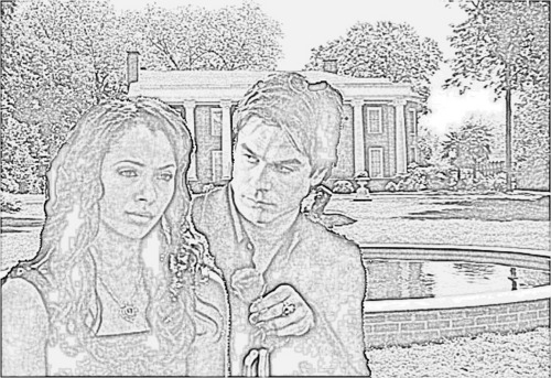 Sketch of love-Bamon