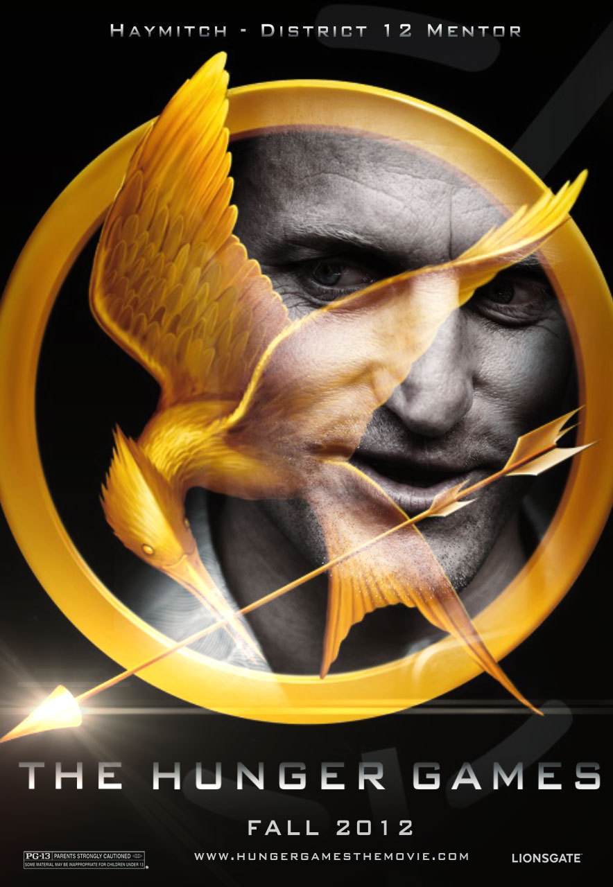 The Hunger Games fanmade movie poster - Haymitch Abernathy