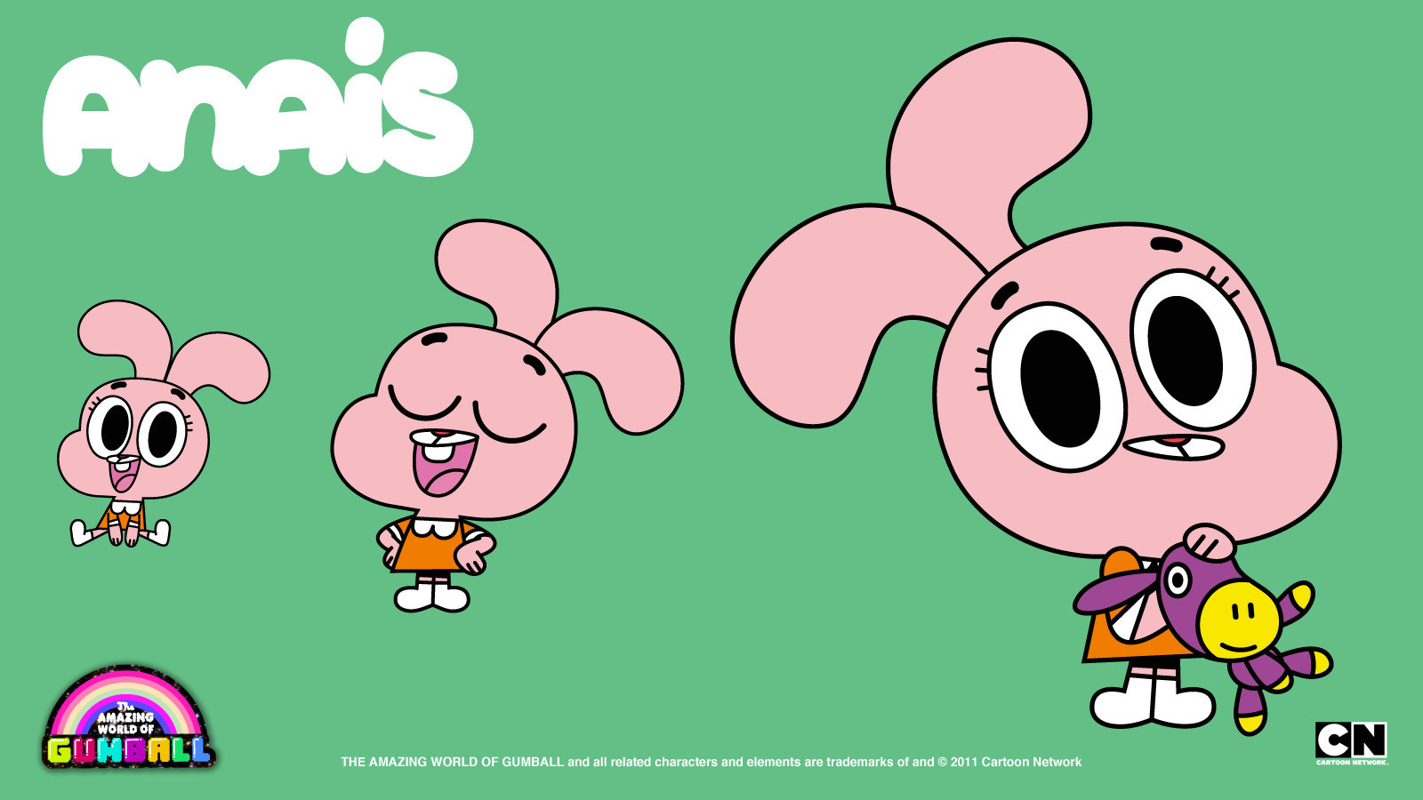 Anais The Amazing World Of Gumball Wallpaper 22707293 Fanpop