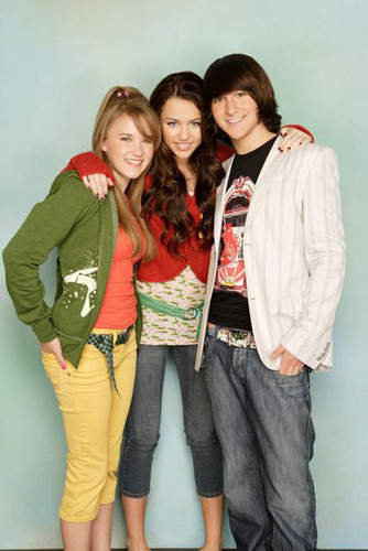 Emily Osment, Miley Cyrus, Mitchel Musso