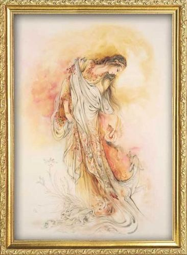 Indian painter M. F. Hussain