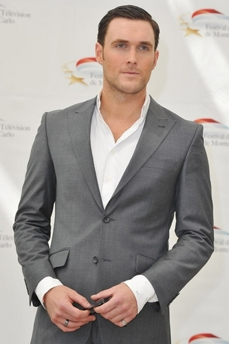 Owain Yeoman at the 51st Monte Carlo televisão Festival