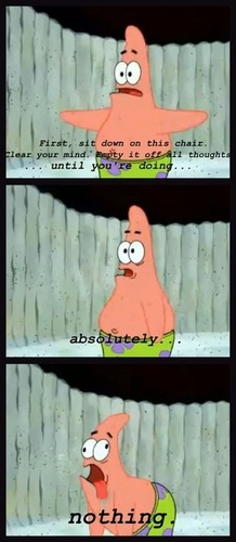 Patrick does Nothing