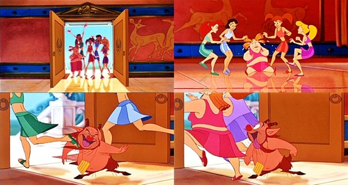 Walt Disney Movie Mistakes - The Girls