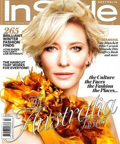 Cate Blanchett for InStyle Australia July 2011