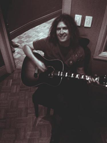 Dave in the studio!