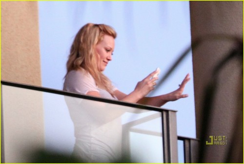 Hilary Duff & Mike Comrie: Proposal