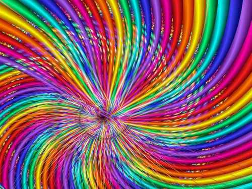 Spinning couleurs