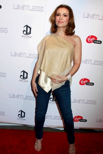 Alyssa - Limitless New York Premiere, March 8, 2011