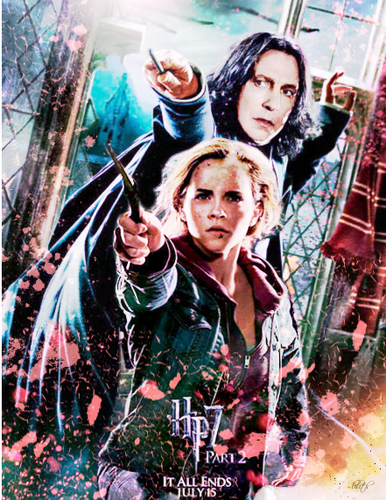 DH2 - Hermione and Severus