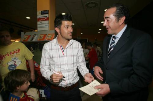 David Villa David Villa at Asturian Sports Gala (June 16, 2011)