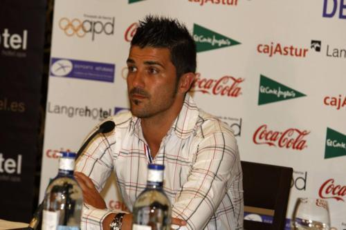 David ولا at Asturian Sports Press Conference (16 June, 2011)