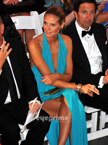 Heidi Klum: amfAR Inspiration Gala in New York, Jun 14
