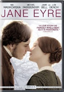 Jane Eyre 2011 DVD/Blu-ray cover artwork