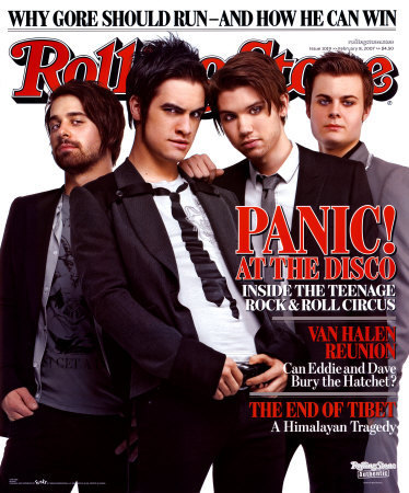 Panic! At The Disco Rolling Stone Cover