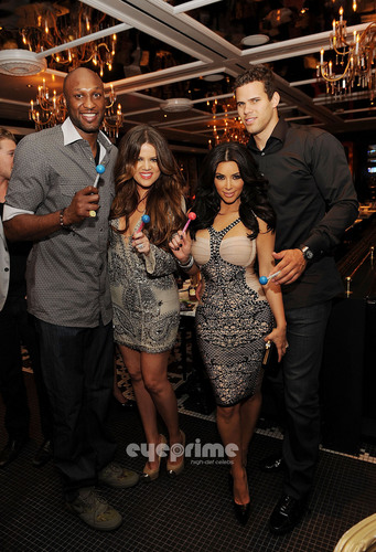 The Kardashian Family Dines at Sugar Factory in Las Vegas, June 17