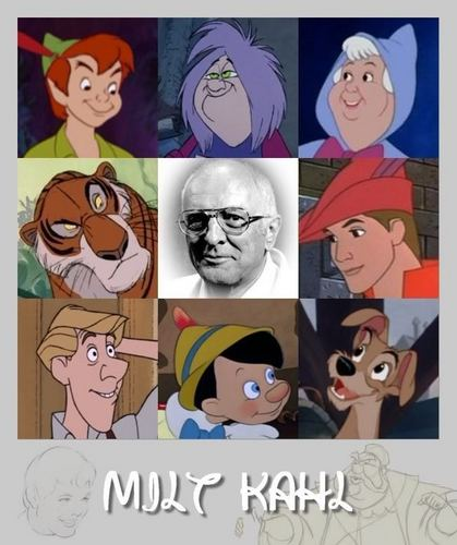 Walt Disney Animators - Milt Kahl