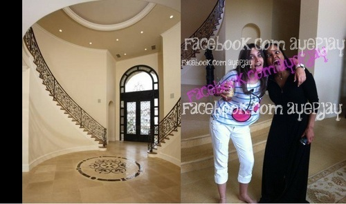 (The Same Picture)- Katherine Jackson's Calabasas 집 [=