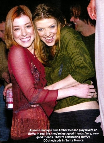 Alyson and Amber ♥